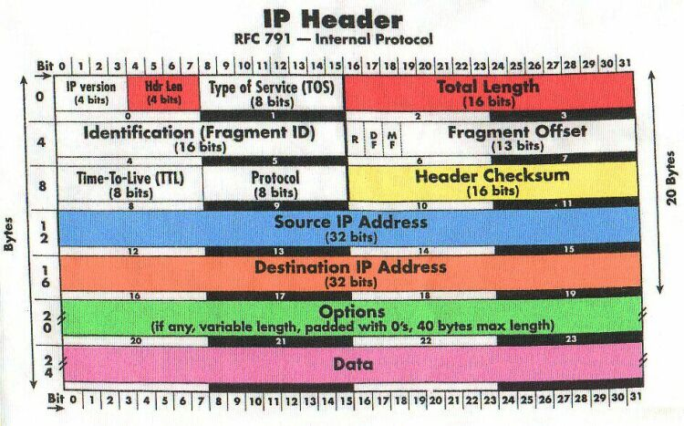internet protocol and header length field Header length: expressed in 32 internet control message protocol (icmp) in the ip header the protocol field points to the icmp.